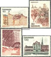 Denmark 617-620 (complete Issue) Unmounted Mint / Never Hinged 1976 Danish Regions: Copenhagen - Denmark