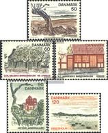 Denmark 564-568 (complete Issue) Unmounted Mint / Never Hinged 1974 Danish Regions: Fyn - Denmark