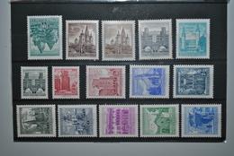 Autriche 1957/62 Série Courante MNH - 1945-.... 2ème République