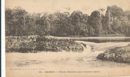 AN 21 / C P A     AFRIQUE-  GABON  - SAMBA  CHUTE SAMBA AUX BASSES EAUX - Gabon