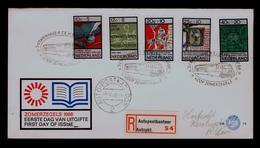 FRYSK DICHTER Mail Car Courrier Press Imprenta Literature 1966 Nederland Fdc Sp5785 - Correo Postal
