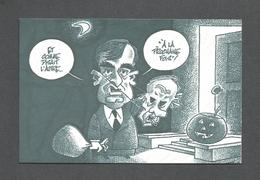 POLITIQUE DU QUÉBEC - RENÉ LÉVESQUE - À LA PROCHAINE FOIS - CARICATURE DE L'HALLOWEEN - Personnages