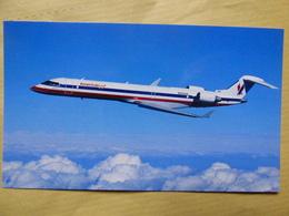 AMERICAN EAGLE   CRJ 900    N500 - 1946-....: Era Moderna