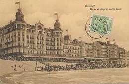 CPA - Belgique - Oostende - Ostende - Digue Et Plage à Marée Haute - Oostende
