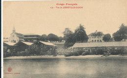 AN 66  / C P A     AFRIQUE-  CONGO FRANCAIS LIBREVILLE - VUE DE LIBREVILLE -GABON - Congo Français - Autres
