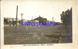 110601 ARGENTINA CHUBUT PUERTO MADRYN VISTA DE LA CALLE PHOTO NO POSTAL POSTCARD - Fotografie