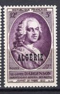 1953 - ALGERIA - Yv.  Nr. 303 - NH - (UP131.40) - Algeria (1962-...)