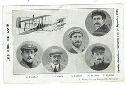 Tournai. Les Rois De L'air. Semaine D'Aviation à Tournai Du 5 Au 14 Septembre 1909. Paulhan. Latham. Farman. Bleriot**** - Doornik