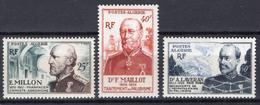 1953 - ALGERIA - Yv.  Nr. 304/306 - NH - (UP131.40) - Algeria (1962-...)