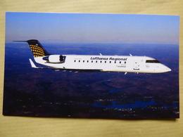 LUFTHANSA REGIONAL   CRJ 200 - 1946-....: Era Moderna