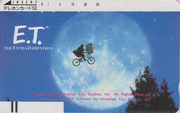 Télécarte Ancienne Japon / 330-2129 -  CINEMA - ET ** The Extra Terrestrial ** - Movie Japan Front Bar Phonecard - 11240 - Cinéma