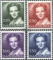 Denmark 776-779 (complete Issue) Unmounted Mint / Never Hinged 1983 Queen Margarethe II. - Denmark