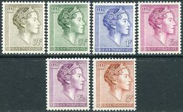 Luxembourg 1960. Michel #623/28 MNH/Luxe. Grand Duchess Charlotte (B03) - Luxembourg