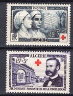 1954 - ALGERIA - Yv.  Nr. 316/317 - NH - (UP131.40) - Algeria (1962-...)