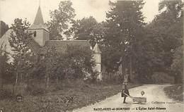 -dpts Div. -ref-AH623- Marne - Saint Ouen Et Domprot - St Ouen Et Domprot - Eglise St Etienne - Enfants - - Autres Communes