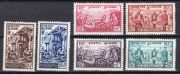 1954 - ALGERIA - Yv.  Nr. 319/324 - NH - (UP131.41) - Algeria (1962-...)
