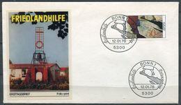 """Germany 1978 First Day Cover Mi.Nr.957Ersttagsbrief """"20 Jahre Friedlandhilfe,Flüchtling Und Aussiedler Hilfe """"1 FDC - Refugees"""