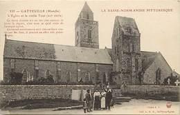 -dpts Div. -ref-AH622- Manche - Gatteville - Eglise Et Vieille Tour - Carte Bon Etat - - France