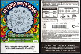 Gratta E Vinci - M'AMA Non M'AMA - Biglietti Della Lotteria