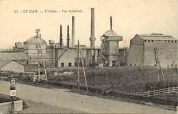 -dpts Div. -ref-AH620- Manche - Le Ham - L Usine - Vue Generale - Usines - Industrie - Carte Bon Etat - - Barfleur