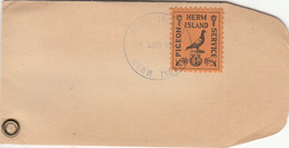 Herm (Guernsey) 1952 Pigeon Post Cover 1 Aug. 1952, - Guernsey