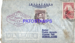 110615 ARGENTINA BUENOS AIRES COVER YEAR 1946 AVIATION AVIACION FAMA NO POSTAL POSTCARD - Unclassified