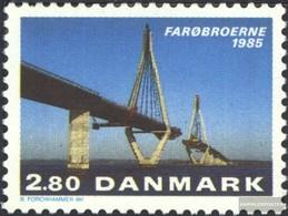 Dänemark 839 (completa Edizione) MNH 1985 Apertura Il Faroe-Bridge - Nuevos