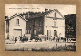 CPA - Le SYNDICAT (88) - Aspect Du Quartier De L'Ecole Et De La Mairie En 1931 - Autres Communes