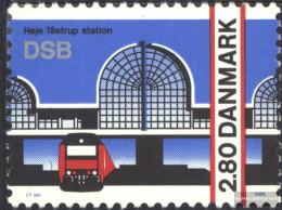 Denmark 870 (complete Issue) Unmounted Mint / Never Hinged 1986 Station Hoeje Tastrup - Denmark