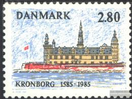 Denmark 846 (complete Issue) Unmounted Mint / Never Hinged 1985 Castle Kronborg - Denmark