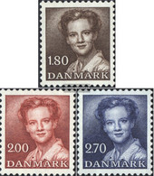 Denmark 753-755 (complete Issue) Unmounted Mint / Never Hinged 1982 Queen Margarethe II. - Denmark