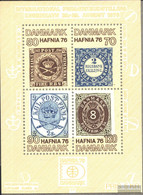 Denmark Block2 (complete Issue) Unmounted Mint / Never Hinged 1975 HAFNIA`76 - Blocks & Sheetlets