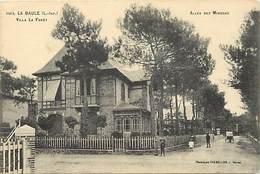 """-dpts Div. -ref-AH615- Loire Atlantique - Villa """" La Forêt """"- Allée Des Mimosas - Villas - Batiments Et Architecture - - La Baule-Escoublac"""