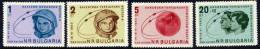 BULGARIA 1963 Vostok 5 And 6 Team Flights Set  MNH / **.  Michel 1394-97 - Nuevos