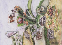 South Africa 1595-1604 Folienblatt (complete Issue) Unmounted Mint / Never Hinged 2004 Flora And Flora Tafelberg - South Africa (1961-...)