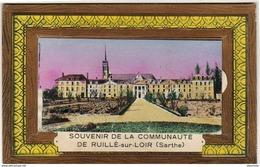 D72  RUILLE- SUR- LOIR  Souvenir De La Communauté   ..... Carte à Système Avec Dépliant Complet - Autres Communes