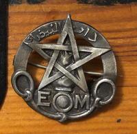 Insigne De L'E.O.M, Ecole D'Officiers Marocains - Army
