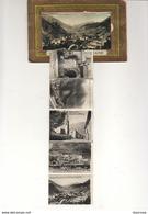 D73  MODANE  Rare Carte à Système Avec Dépliant De Petites Photos - Modane