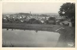 -dpts Div. -ref-AH612- Loire - Pouilly Sous Charlieu - Vue Generale - Petit Plan Cheminee D Usine - Usines - Industrie - - France