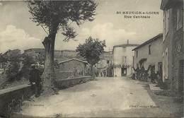 -dpts Div. -ref-AH610- Loire - Saint Maurice Sur Loire - St Maurince Sur Loire - Rue Centrale - Carte Bon Etat - - France