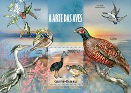 GUINEA BISSAU 2013 - Birds - YT BF901 - Gallinacées & Faisans