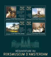 CENTRAL AFRICA 2013 - Rijksmuseum, Pelican - YT 2882-5 - Pélicans