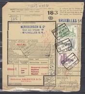 Vrachtbrief Met Stempel Oostende N°28 - 1952-....