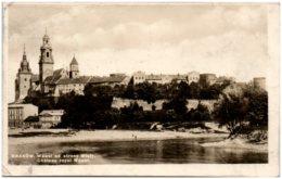 KRAKOW - Wawel Od Strony Wisly - Pologne