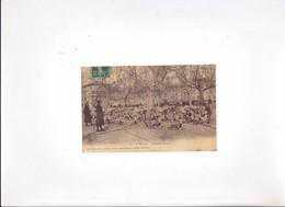 Cpa - Rare Carte Sur Le 75e Regiment S'entrainant A La Boxe - Romans Sur Isere