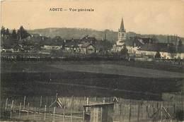 -dpts Div. -ref-AH605-  Isère - Aoste - Vue Generale - Carte Bon Etat - - Autres Communes