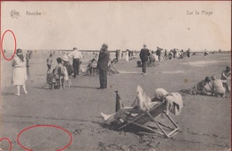 Knokke Knocke Sur La Plage Strand ZELDZAAM - Knokke