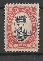 DENMARK Dänemark Danmark SVENDBORG Bypost Lokalpost Local City Post Überdruck (*) - Ortsausgaben