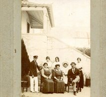 1915 Fotografia Antiga QUINTA Do MELLO Melo (Familia Asseca ?) TORRES NOVAS. Old Photo (Santarem) PORTUGAL - Photos