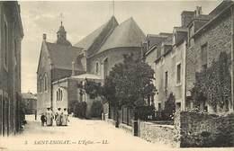 -dpts Div. -ref-AH601-  Ille Et Vilaine - Saint Enogat - St Enogat - L Eglise - Carte Bon Etat - - Autres Communes